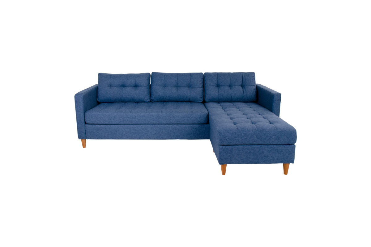 Designová sedačka Brianna, modrá