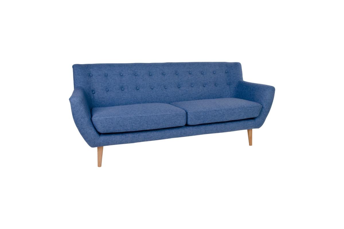 Designová sedačka Aaliyah, modrá