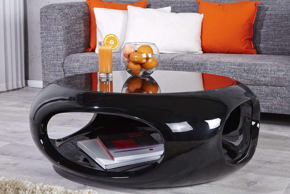 Konferenční stolek Twist II černý