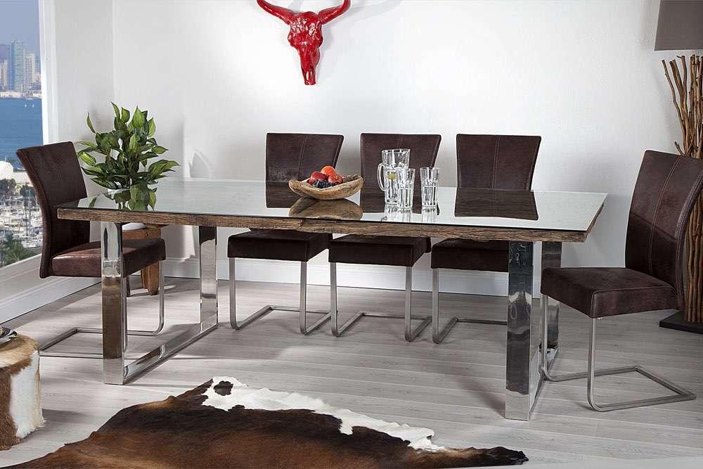 Luxusní jídelní stůl z masivu Shark 180cm
