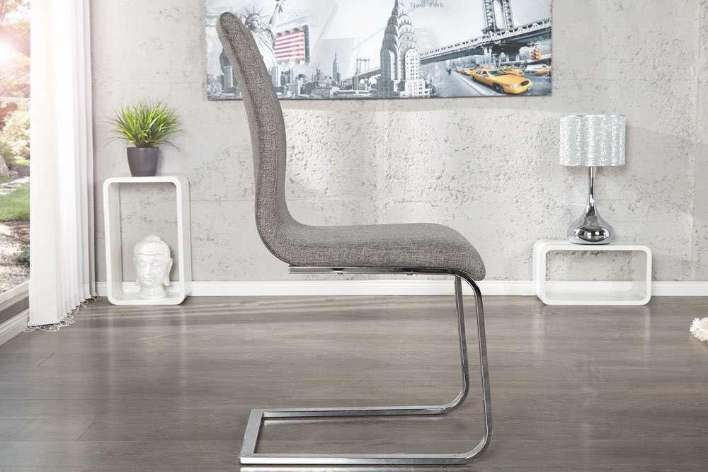 Židle Slim II šedá