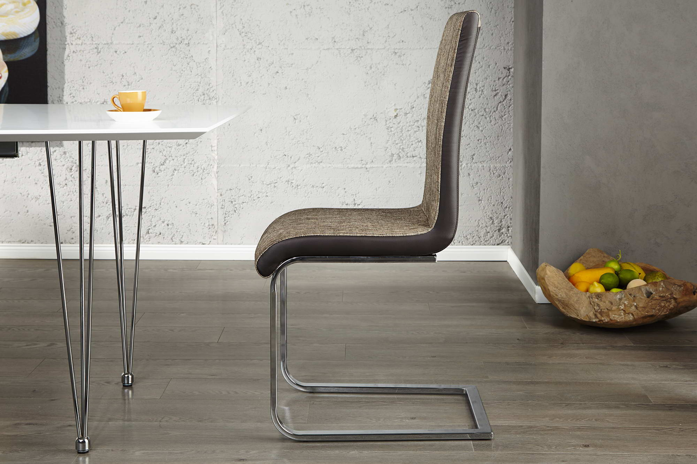 Židle City cappucino