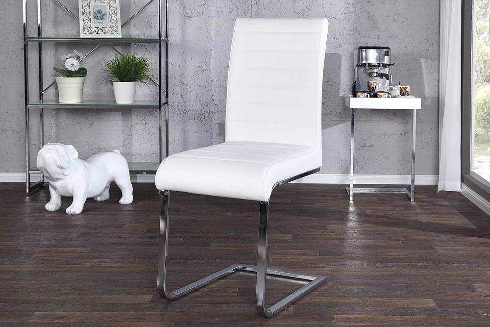 Židle Gilbert bílá