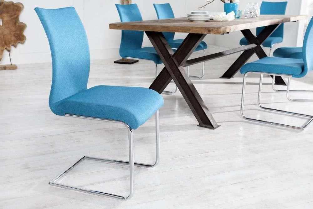 Židle Bland modrá
