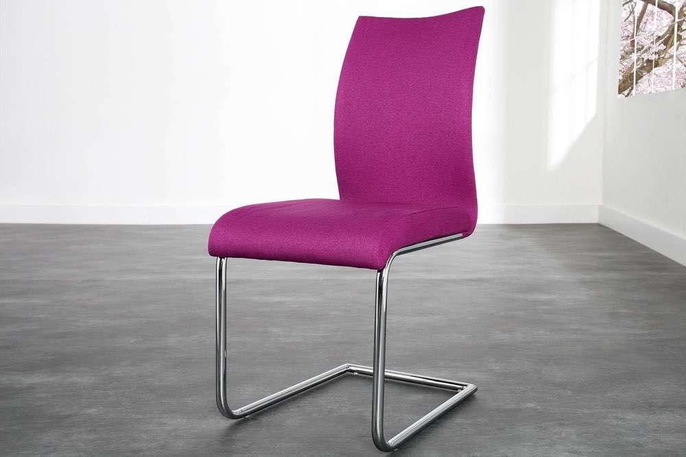 Židle Bland růžová