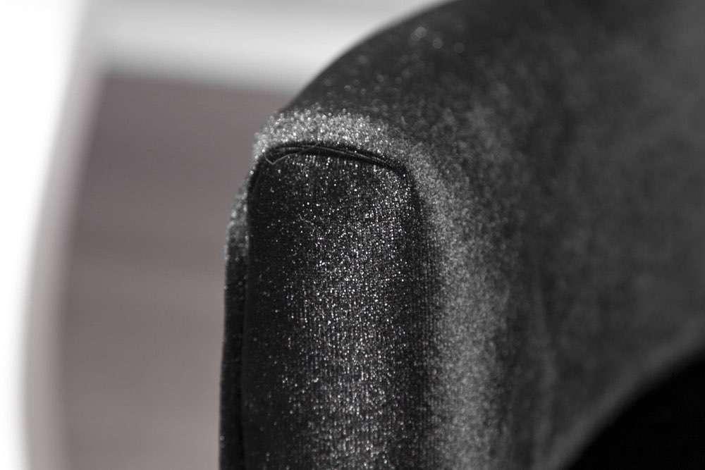 Luxusní židle Jewelry černá