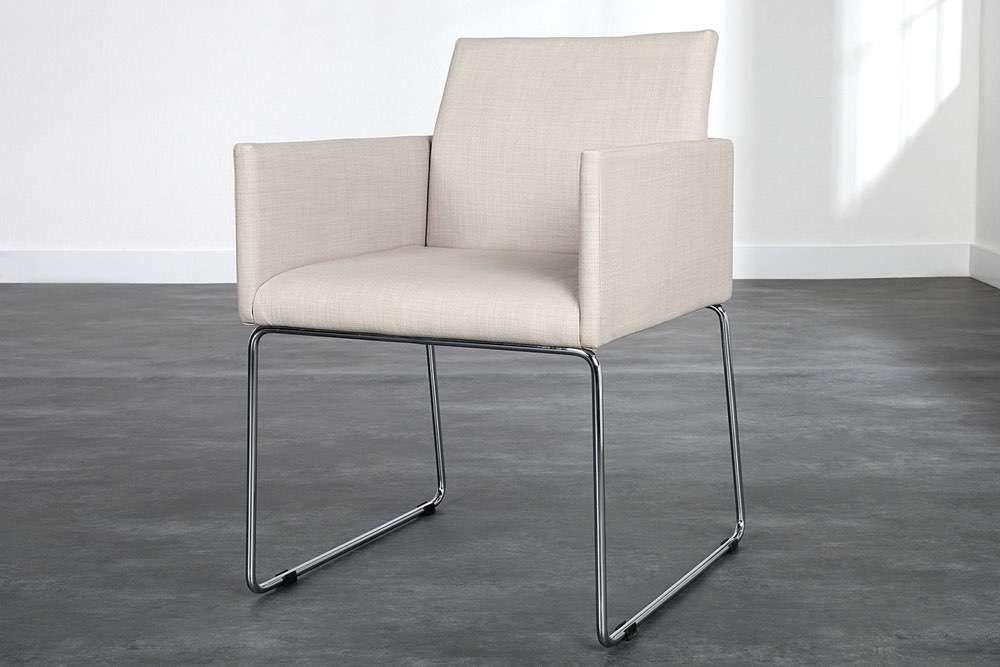 Židle Officio krémová
