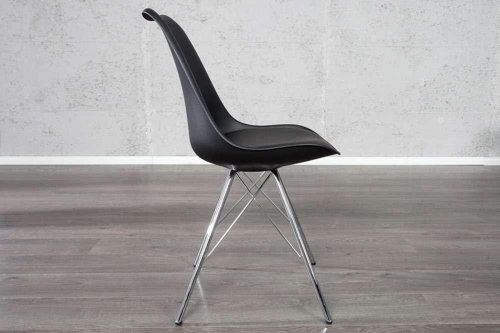 Židle Sweden Retro černá