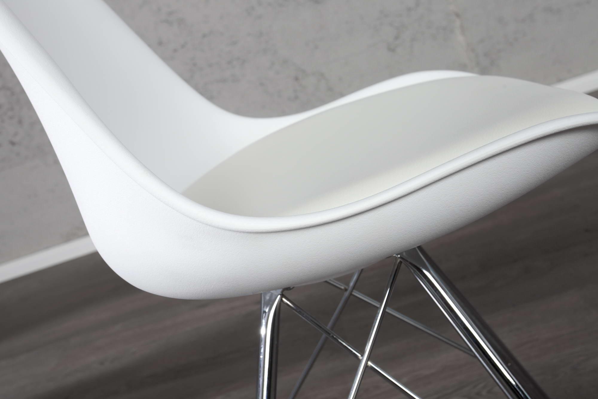 Židle Sweden Retro bílá