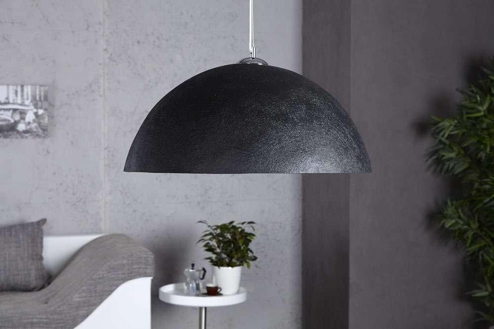 Lampa Glimer 50cm černo-zlatá