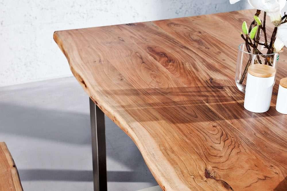 Luxusní jídelní stůl z masivu Massive 160cm