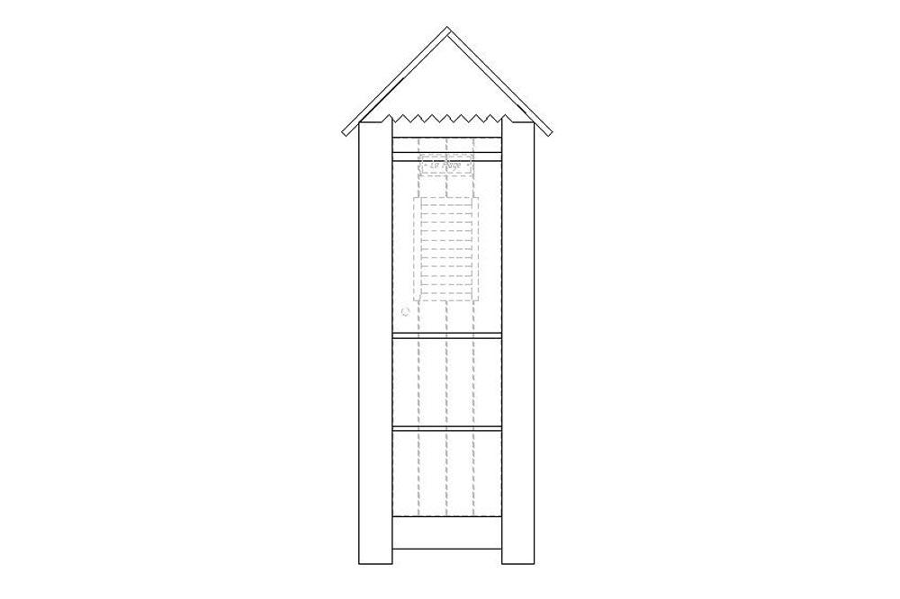 Skříň Merlyn 1-dveřová