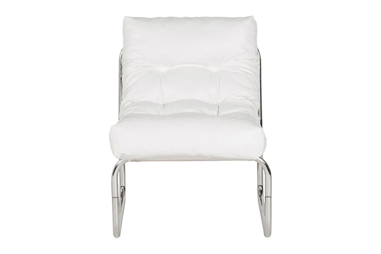 Designové křeslo Bonde bílé