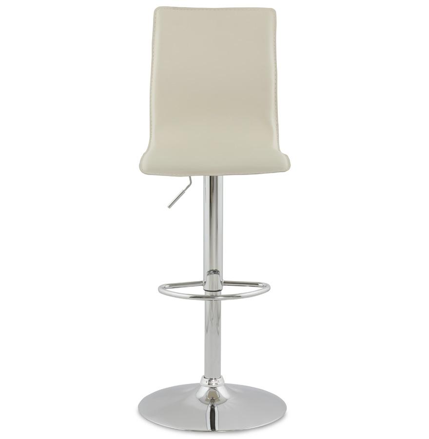 Designová barová židle Liam krémová