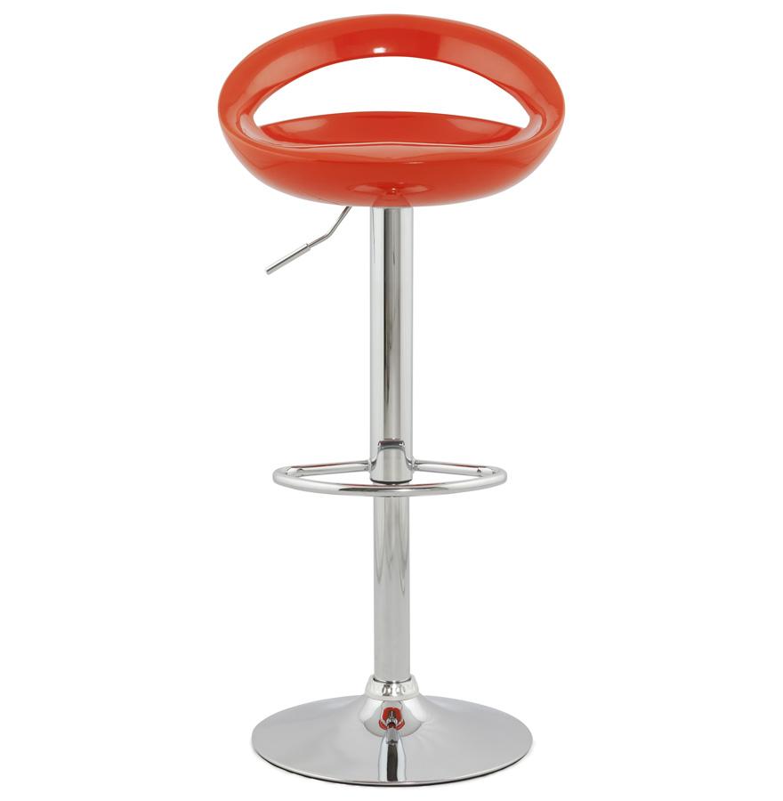 Designová barová židle Mason oranžová
