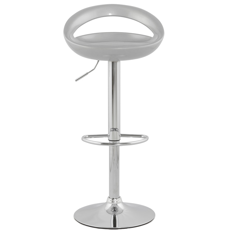 Designová barová židle Mason stříbrná- SKLADEM na SK