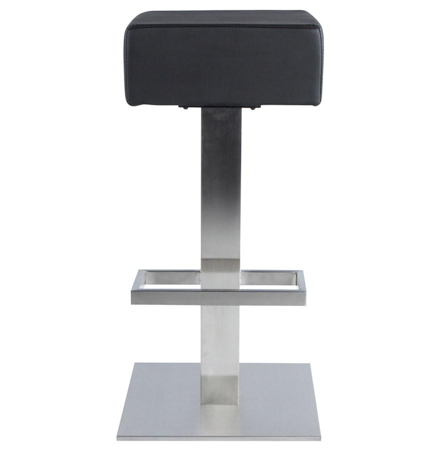 Designová barová židle Caden černá