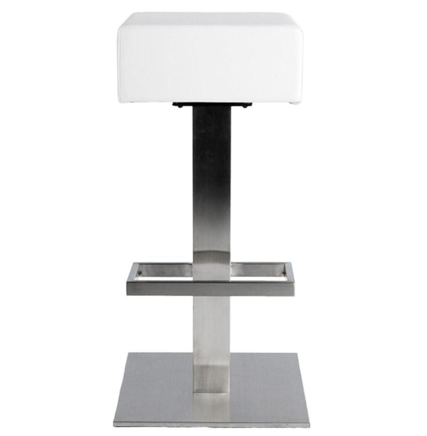 Designová barová židle Caden bílá - Skladem na SK