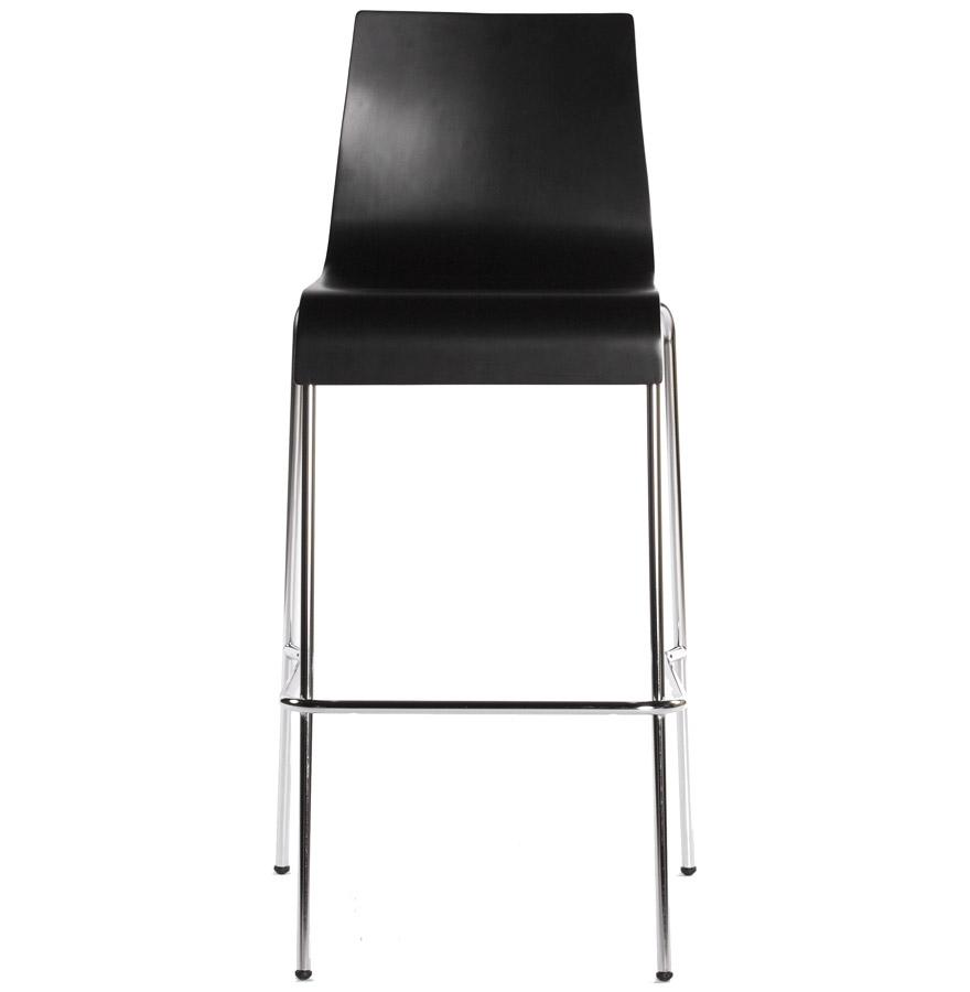 Moderní barová židle Aiden černá