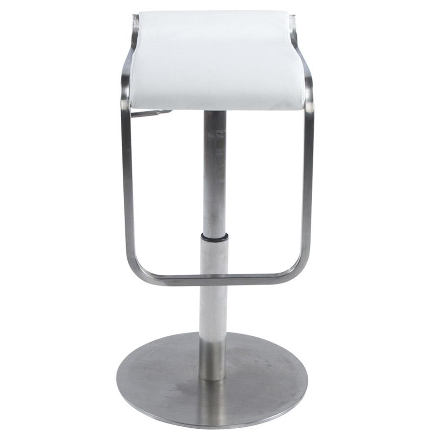 Moderní barová židle Carter bílá