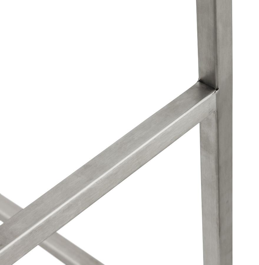 Moderní barová židle Owen bíla - Skladem na SK