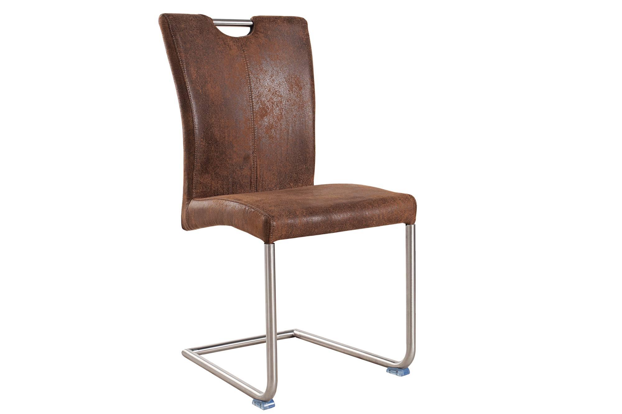 Jídelná židle Goethe vintage hnědá