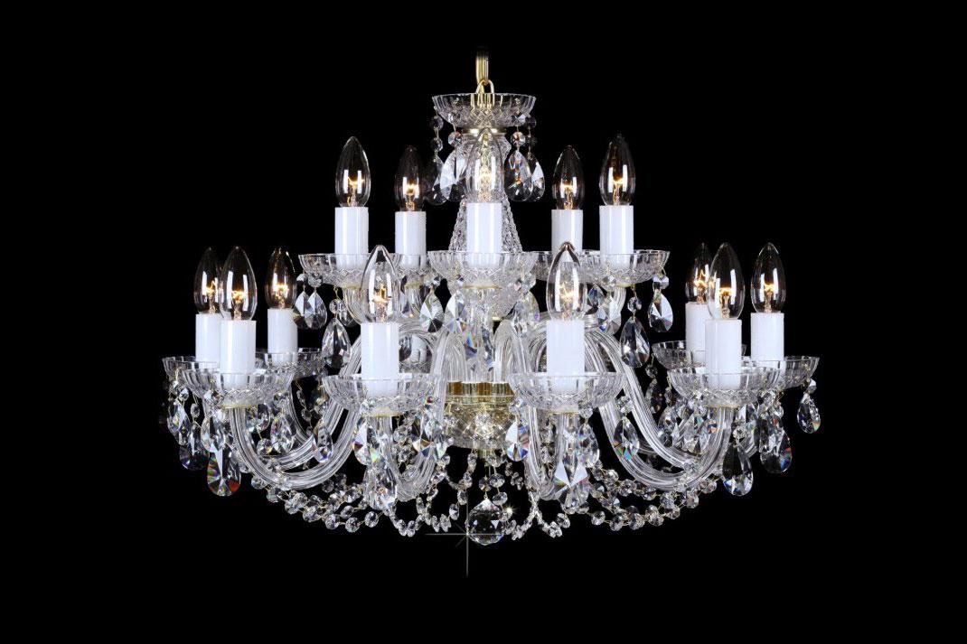 Křišťálový lustr Bohemia Classic R15