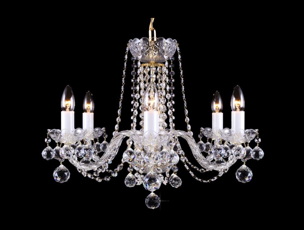 Křišťálový lustr Premium R6-4