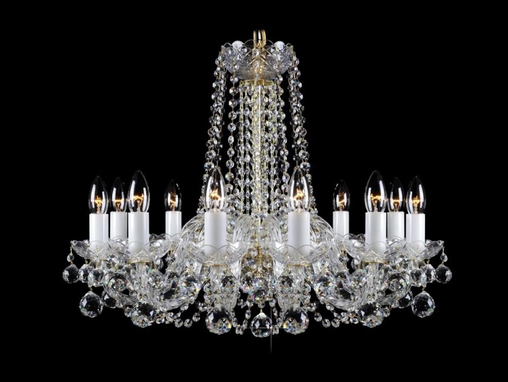 Křišťálový lustr Premium R12-4