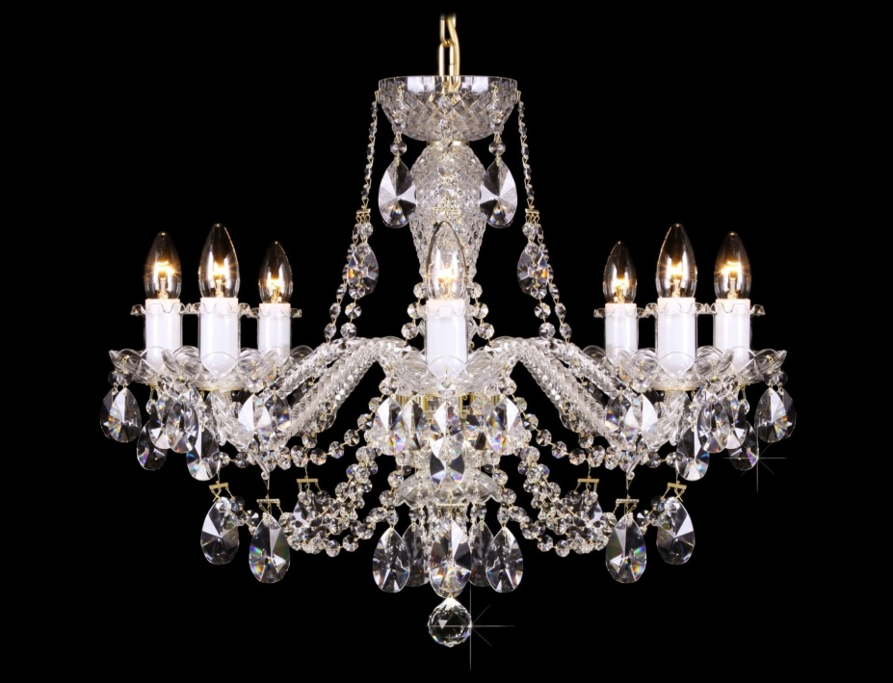 Křišťálový lustr Grande R8