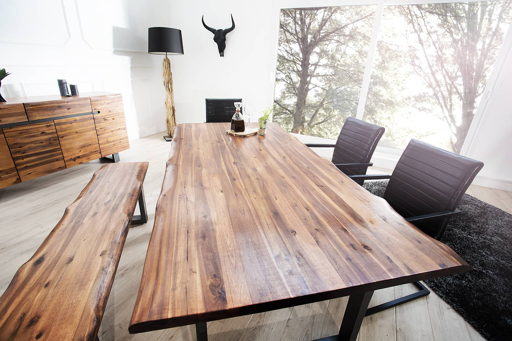 Jídelní stůl Evolution 200cm Antracit