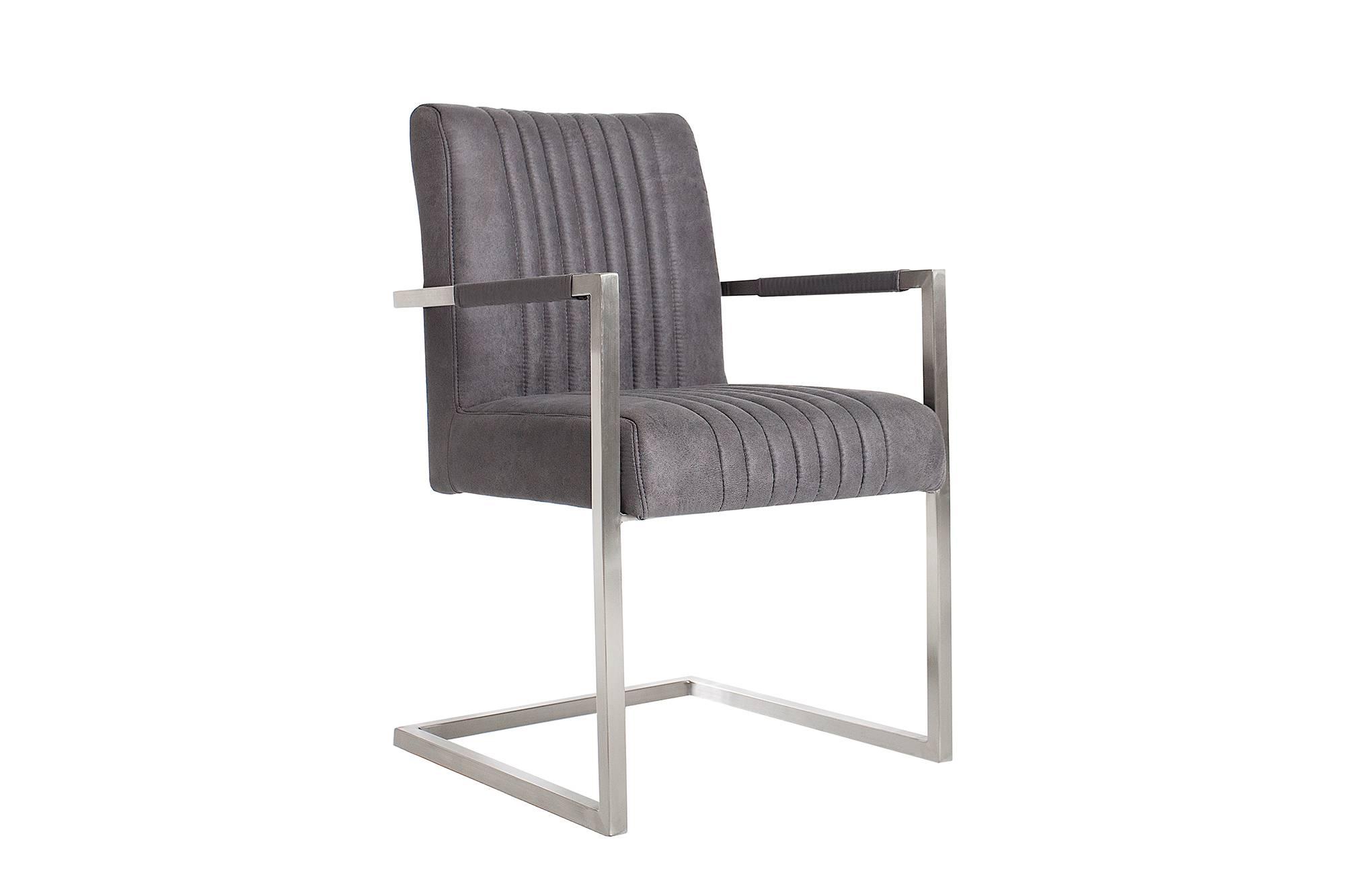 Židle Boss Vintage šedá