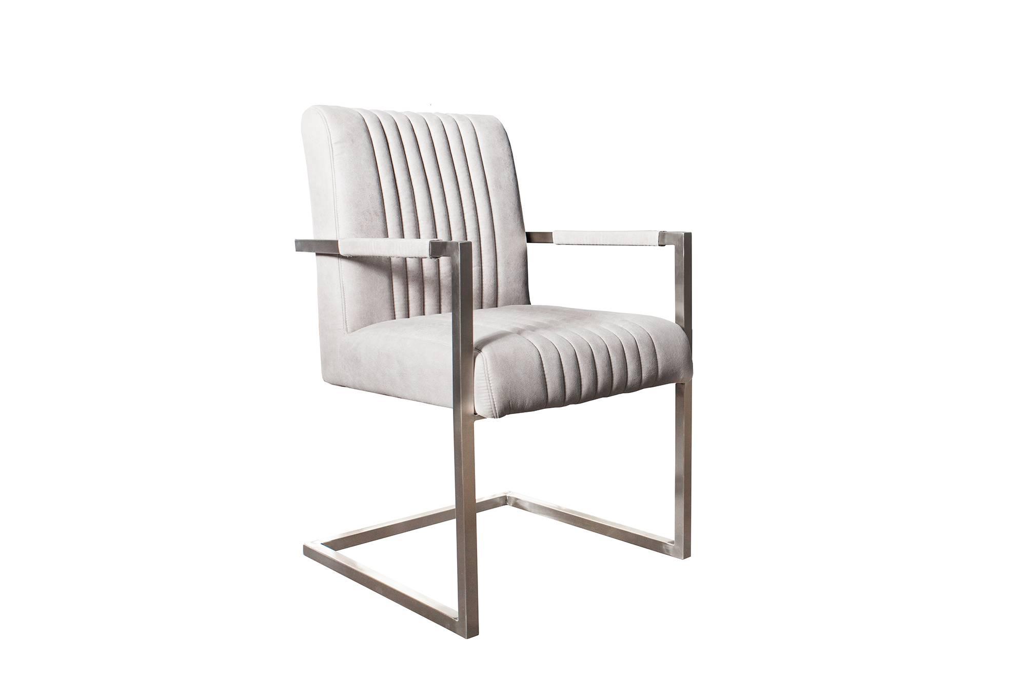 Židle Boss světle šedá - Skladem na SK (RP)