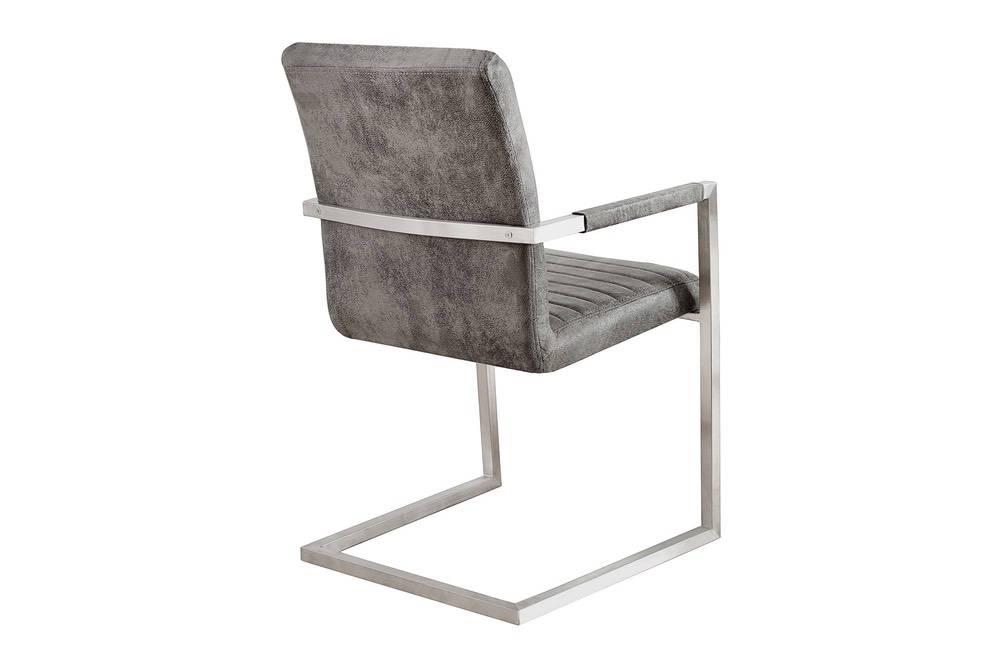 Židle Imperium Antik šedá