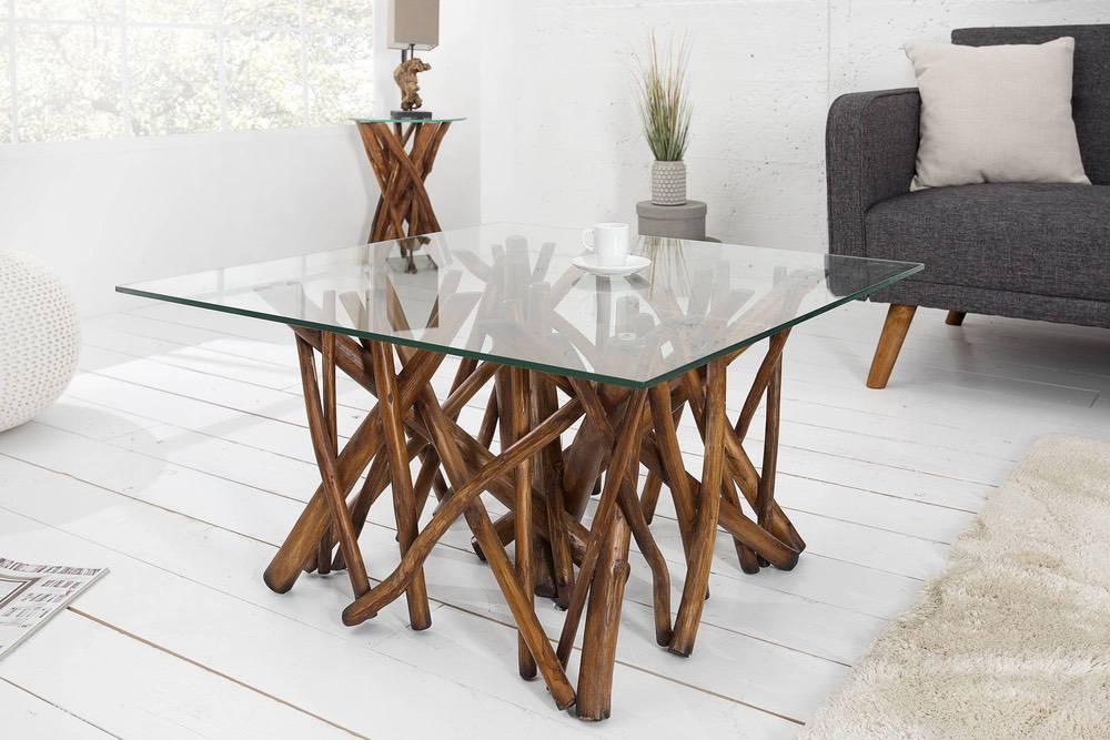 Konferenční stolek Arch hnědý