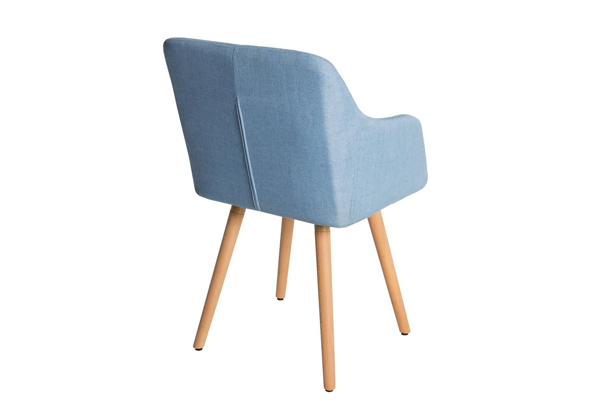 Židle Norway modrá