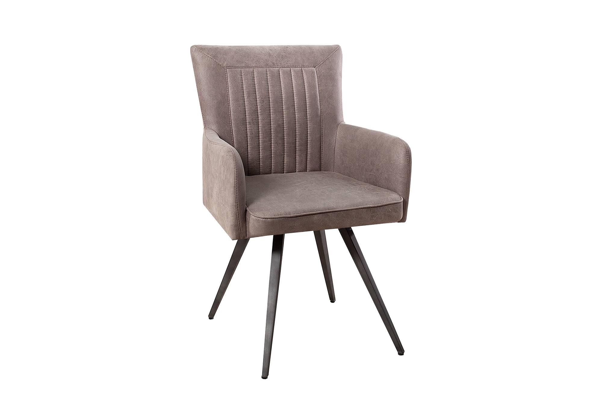 Dizajnová židle Adda šedá