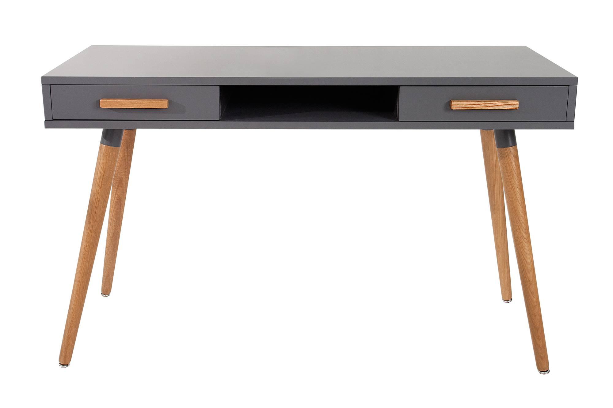 Dizajnový psací stůl Sweden grafitová