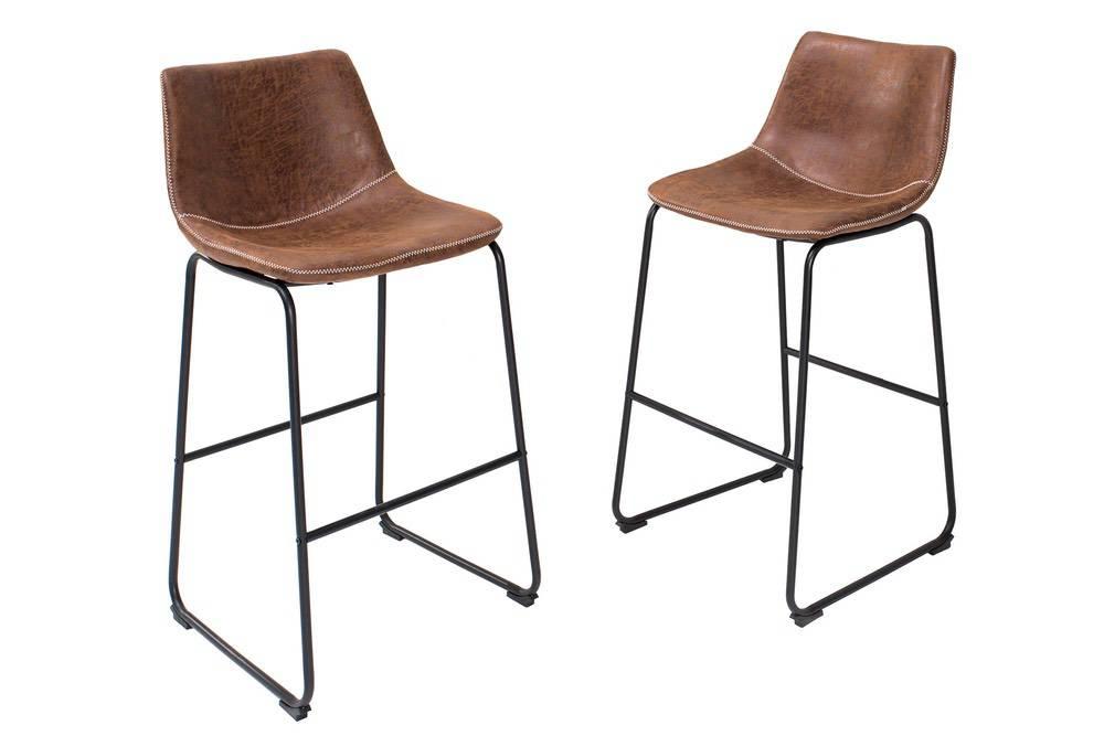 Designová barová židle Alba hnědá - Skladem na SK (RP)