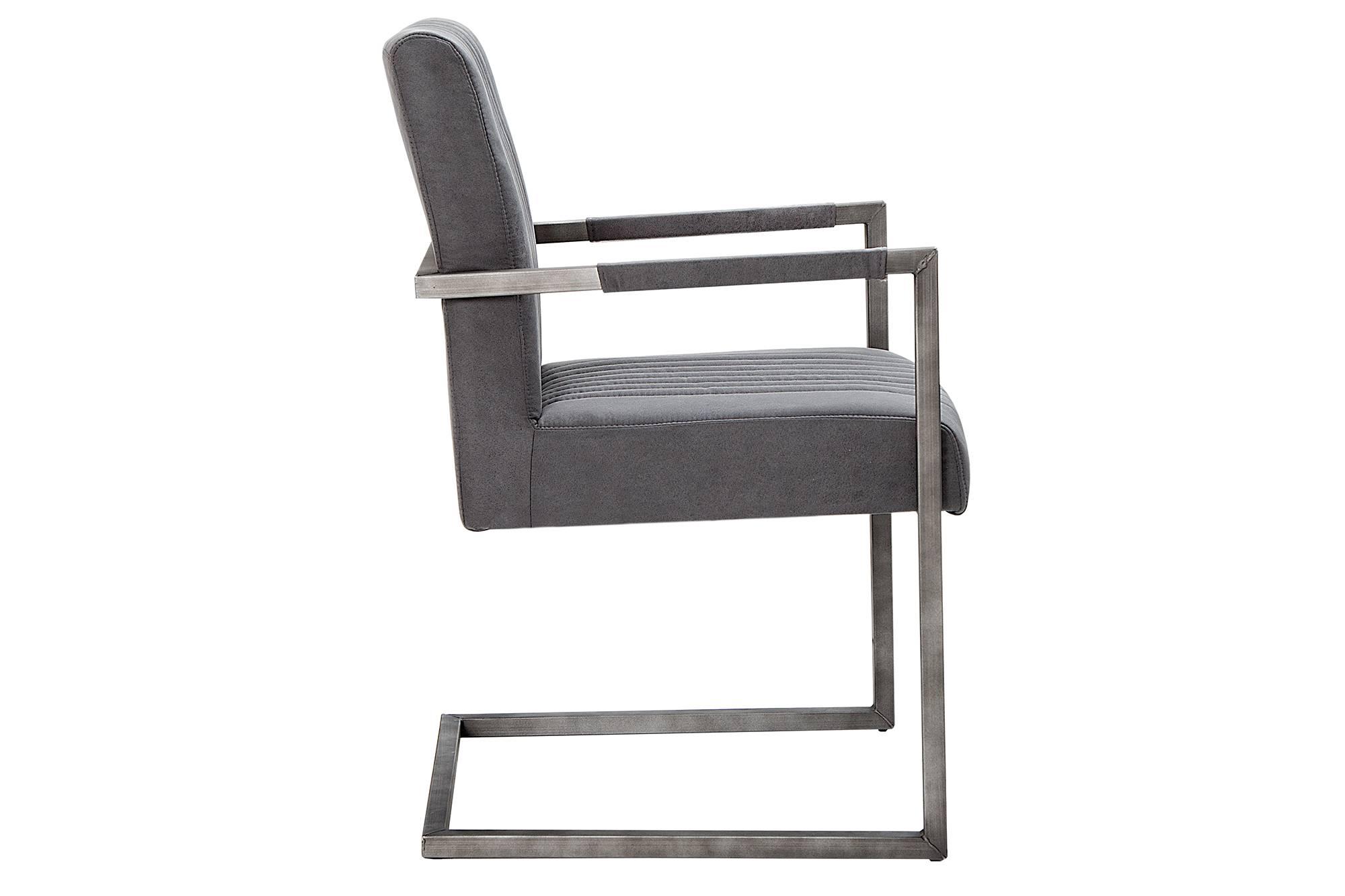 Židle Boss Vintage šedá II