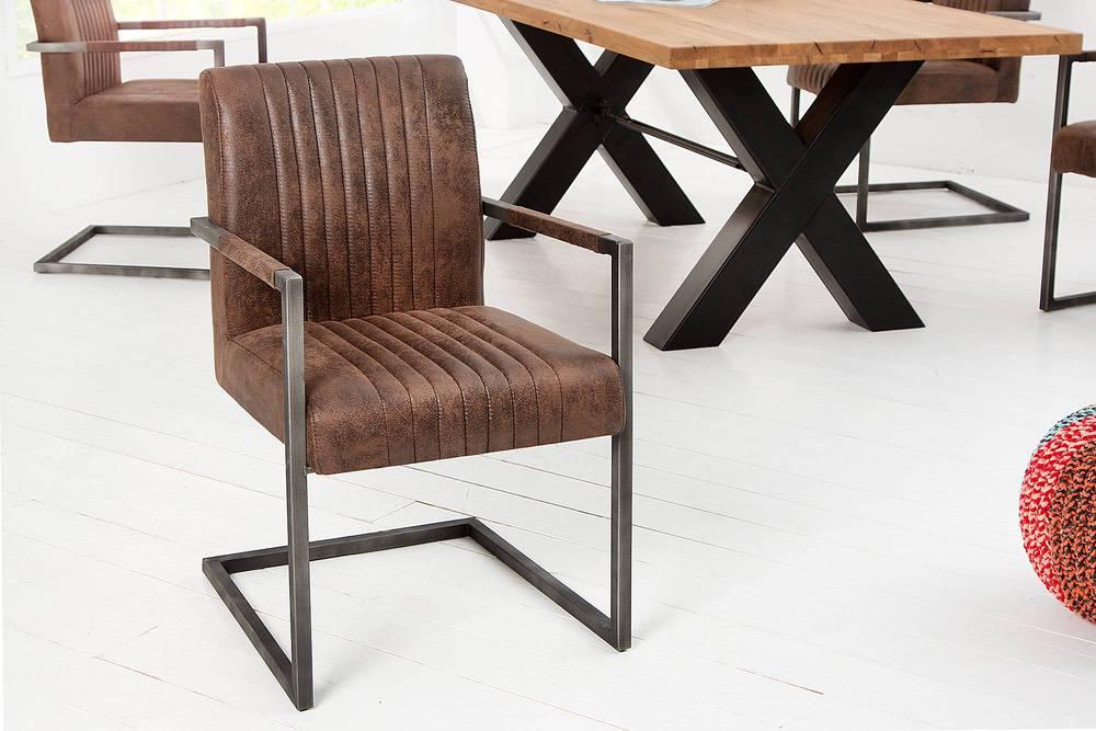 Židle Boss Vintage hnědá - Skladem na SK