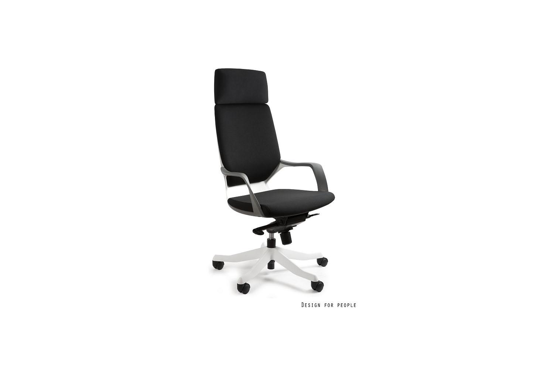 Kancelářská židle Amanda bílá / černá