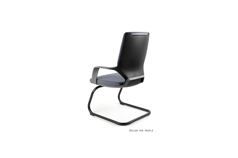 Kancelářská židle Amanda III černá/šedá