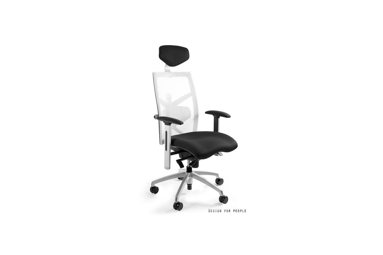 Kancelářská židle Ester s barevnou opěrkou