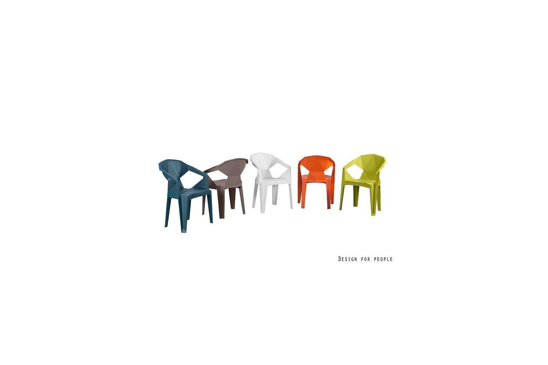 Židle Meredith žlutá