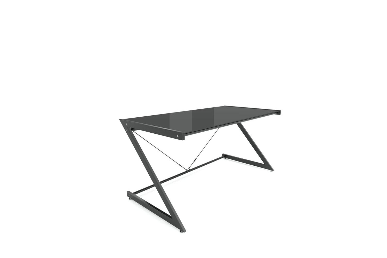 Dizajnový stůl Prest černá / černá
