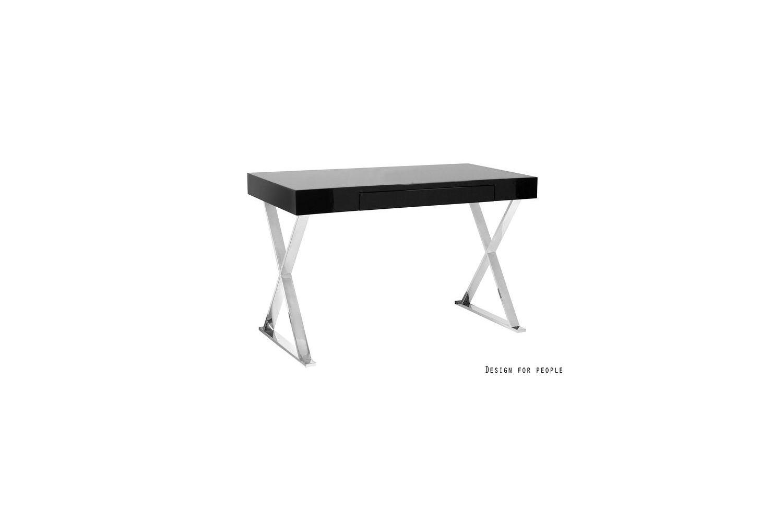 Dizajnový stůl Zara černá
