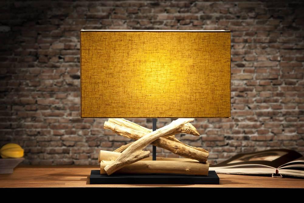 Stolní lampa Adela béžová