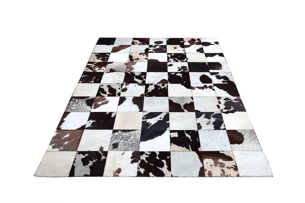Designový koberec Ralph 195 cm hnědá / bílá