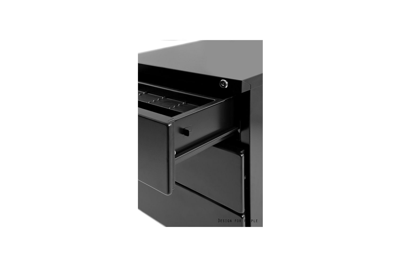 Stylová skříňka Christtina černá